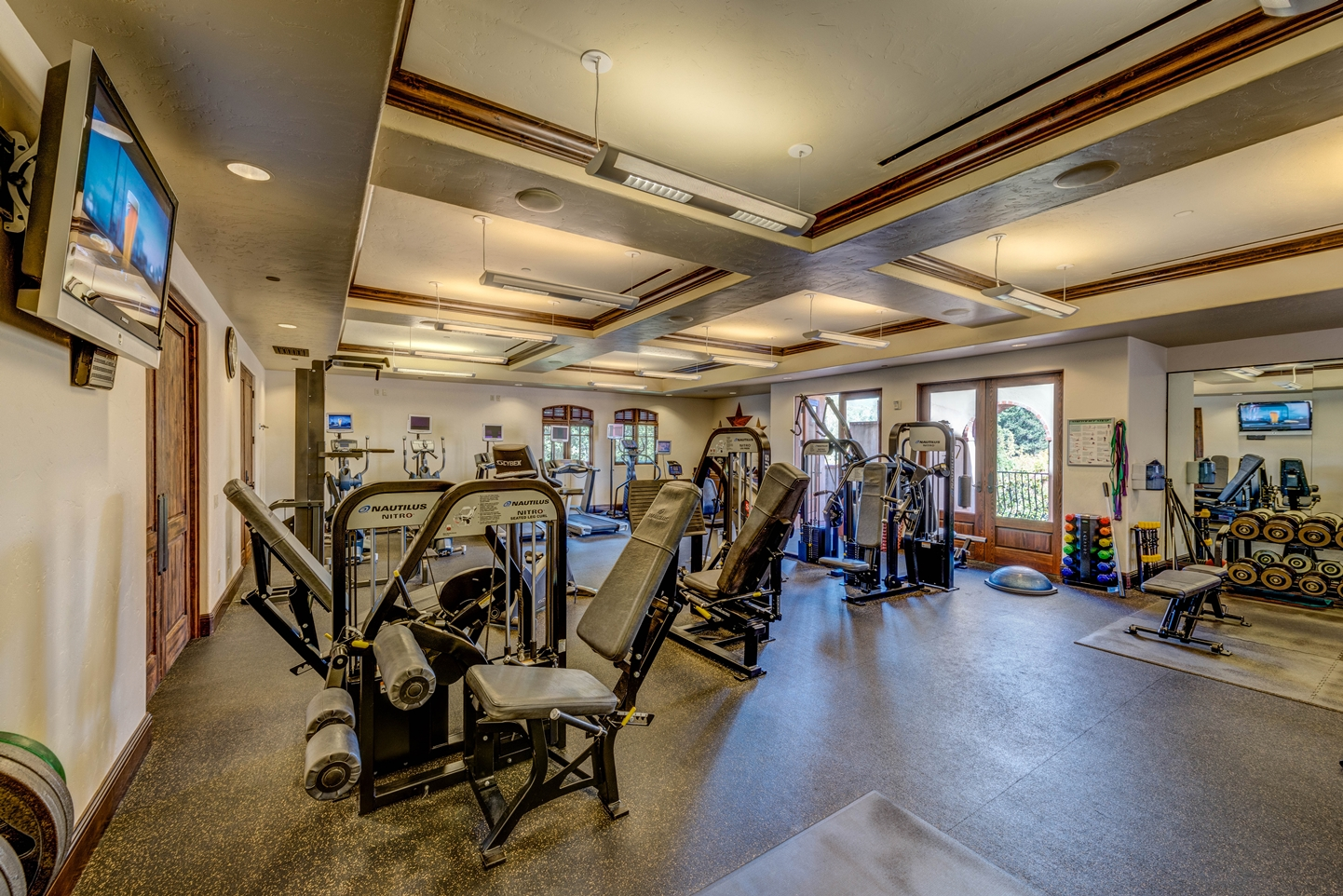 The gym at Sonoma Golf Club