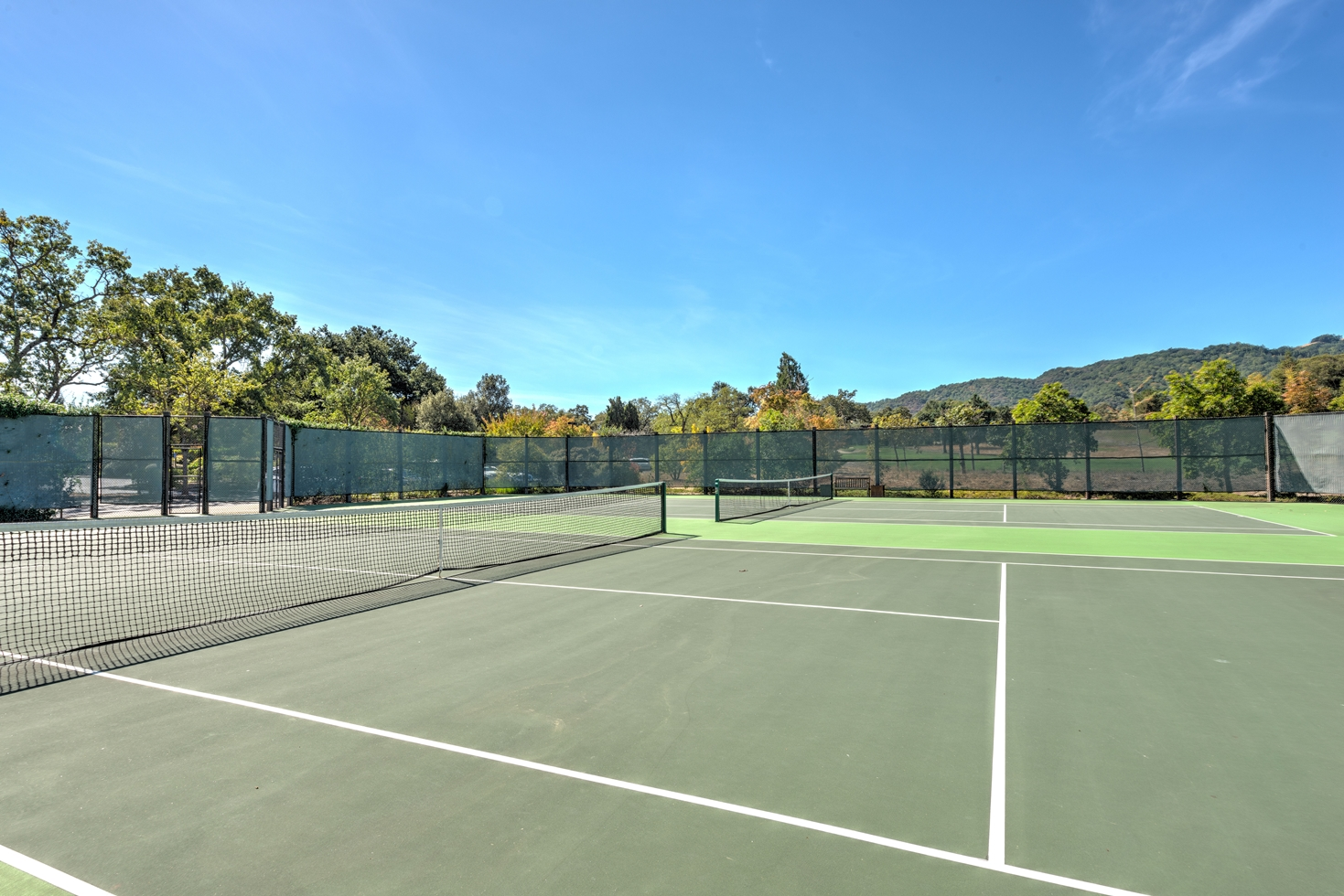 Tennis court at Sonoma Golf Club